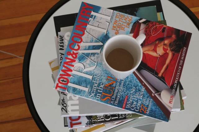 Magazines and Coffee